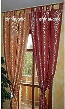 Schlaufenschal Seitenschal Gardine Vorhang