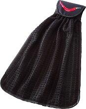 Schlaufentuch Peperoni, schwarz