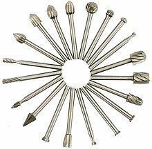 Schleifmittelwerkzeuge HSS Carbide Burr Set