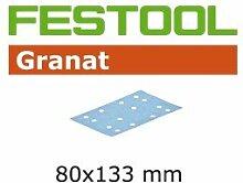 Schleifstreifen STF 80x133 P 80 GR 50X