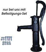 """Schlichte Schwengelpumpe Typ75 - """"komplett"""" – auch als Gartenpumpe Handpumpe Wasserpumpe Brunnenpumpe Handschwengelpumpe für Garten Brunnen oder Regentonne bekannt !"""