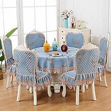 Schlichte Tischdecke im nordischen Stil,