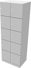 Schließfachschrank Pendo Vari Edo 10 Türen 60 x