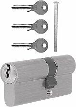 Schließzylinder - 30 x 80 mm - 3 Schlüssel -