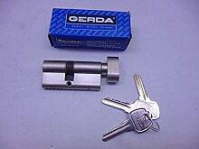 Schließzylinder, Gerda, 30 K/ 35 mm, 5 Stifte,