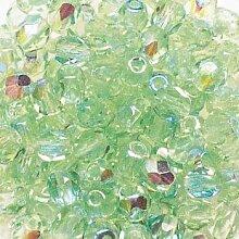 Schliffperlen Glas 4mm jaspis