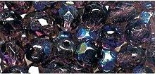 Schliffperlen Glas 6mm amethys