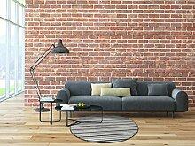 Schlingen Teppich Chipmunk rund - Farbe: Braun, Grau oder Rot gestreift   hochwertige und strapazierfähige Qualität   Fußbodenheizung geeignet   für Wohnzimmer Schlafzimmer Kinderzimmer und Büro, Farbe:Grau, Größe:267 cm rund