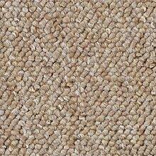Schlingen-Teppichboden in der Farbe Beige meliert