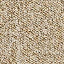 Schlingen-Teppichboden in der Farbe Beige   weiche