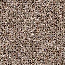 Schlingen-Teppichboden in der Farbe Sand   weiche