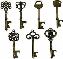 Schlüssel-Flaschenöffner - sortiert Vintage