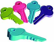 Schlüssel-Form, mit Gummi-Stopfen Türstopper