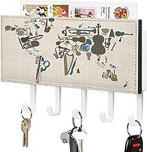Schlüssel Halter Wand Schlüssel Haken,