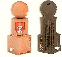 Schlüsselanhänger als Schlüsselfundmarke 2