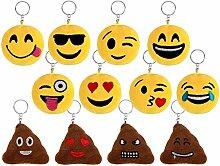 Schlüsselanhänger Emoji Lach Smiley Kissen 13