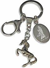 Schlüsselanhänger Pferd Foto- und Textgravur / einzigartige Geschenkidee / für Pferde-Fans