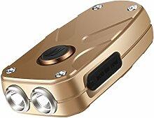 Schlüsselanhänger Taschenlampe,SGODDE Tragbare