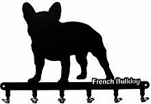 Schlüsselbrett / Hakenleiste * Frensh Bulldog * -