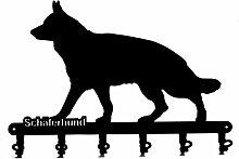 Schlüsselbrett / Hakenleiste * Schäferhund * -