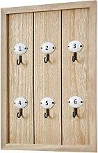 Schlüsselbrett mit Nummerierung