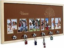 Schlüsselbrett Schlüsselboard 60 x 25 cm mit