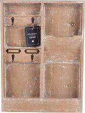Schlüsselbrett und Briefablage aus Tannenholz