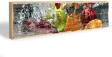 Schlüsselbretter - Hakenleiste Erfrischendes Obst