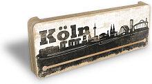 Schlüsselbretter - Schlüsselboard Köln Skyline