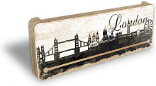 Schlüsselbretter - Schlüsselboard London Skyline