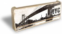 Schlüsselbretter - Schlüsselboard NYC Skyline