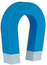 Schlüsselhalter Hufeisen mit Magnet in blau (erhältlich in 3 Farben), magnetische Schlüsselaufbewahrung Magnetschlüsselhalter in 3 verschiedenen Farben, von Kobert Goods