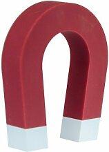 Schlüsselhalter Hufeisen mit Magnet in rot (erhältlich in 3 Farben), magnetische Schlüsselaufbewahrung Magnetschlüsselhalter in 3 verschiedenen Farben, von Kobert Goods