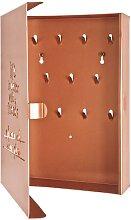 Schlüsselkasten in Kupferfarben Metall
