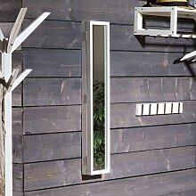 Schlüsselkasten in Weiß Eiche Massivholz