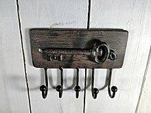 Schlüsselleiste aus Metall - 11,5x15x3 cm -