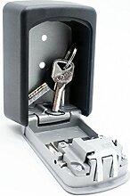Schlüsselsafe für Wandmontage, Schlüsselkasten mit Zahlenkombina