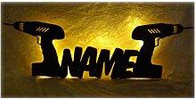 Schlummerlicht24 3d Led Tool Lampen Nachtlicht