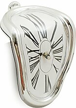 Schmelzende Uhr Geschmolzene Wand Uhr im Stil von Salvador Dali von Design61