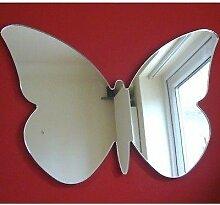 Schmetterling Big Flügel Wandspiegel, plastik, 60 x 40 cm