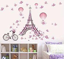 Schmetterling Blumenturm Luftballon Mädchen