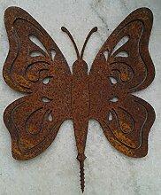 Schmetterling Eisen Rost zum Eindrehen
