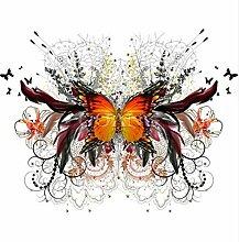 Schmetterling Kristall Kreuzstich Bild Diamant