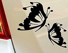 Schmetterling Mädchen Star Lustige Tiere Hobby Drift Funny Car Bumper Window Funny Vinyl Van Laptop Love Herz Decor Home Live Kids Funny Art Wand Aufkleber Aufkleber Motorräder