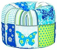 Schmetterling Print Children's Fun Kinder-Sitzsack gefüll