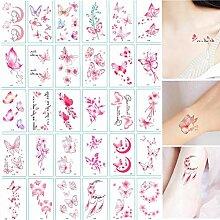 Schmetterling Tattoo Aufkleber wasserdichte