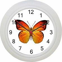 Schmetterling Wanduhr