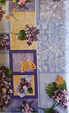 Schmetterlinge und Libellen unter Flieder/Blumen