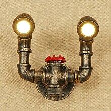 Schmiedeeisen dekorative Wandlampe des Retro-