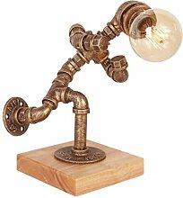 Schmiedeeisen Loft Tisch- / Schreibtischlampe,